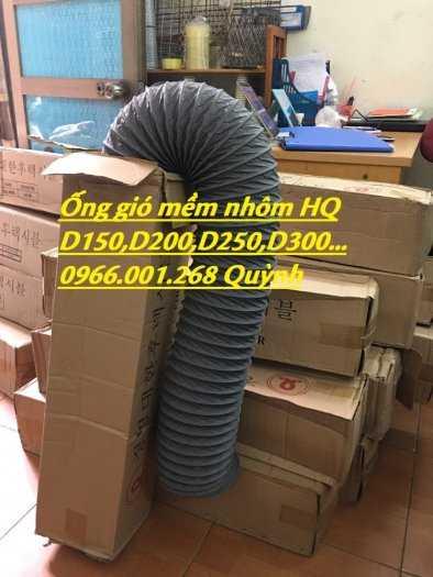 Chuyên cung cấp ống gió mềm vải Hàn Quốc phi 100,phi 125,phi 150,phi 200,phi 300 giá tốt nhất10
