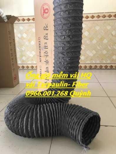 Chuyên cung cấp ống gió mềm vải Hàn Quốc phi 100,phi 125,phi 150,phi 200,phi 300 giá tốt nhất6
