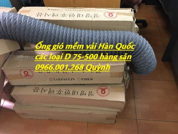 Chuyên cung cấp ống gió mềm vải Hàn Quốc phi 100,phi 125,phi 150,phi 200,phi 300 giá tốt nhất4