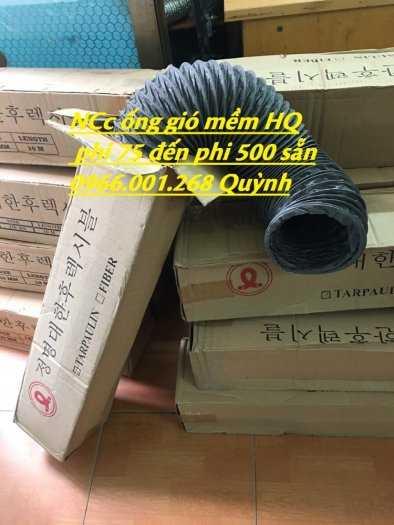 Chuyên cung cấp ống gió mềm vải Hàn Quốc phi 100,phi 125,phi 150,phi 200,phi 300 giá tốt nhất3