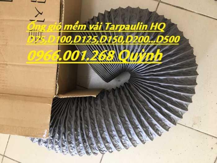 Chuyên cung cấp ống gió mềm vải Hàn Quốc phi 100,phi 125,phi 150,phi 200,phi 300 giá tốt nhất0