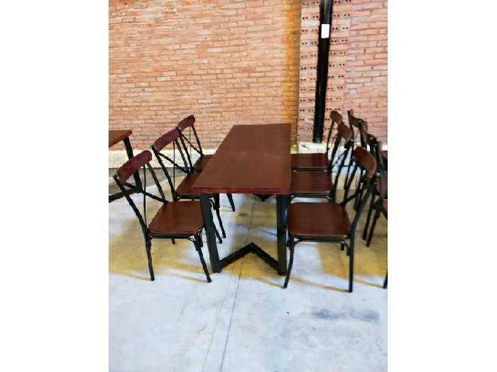 Ghế sắt gỗ ghế chữ X giá rẻ0