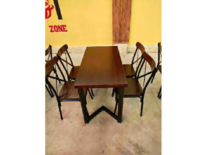 Ghế sắt gỗ ghế chữ X giá rẻ2