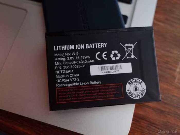 Pin Bộ Phát Wifi Di Động 4G Netgear 791L và 815S Zin Mới0