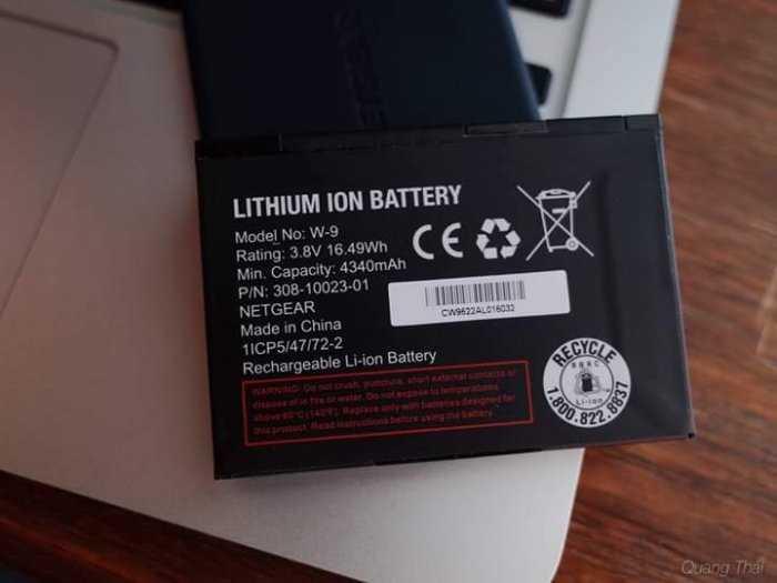 Pin Bộ Phát Wifi Di Động 4G Netgear 791L và 815S Zin Mới 100%3