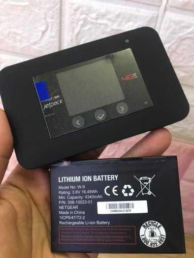 Pin Bộ Phát Wifi Di Động 4G Netgear 791L và 815S Zin Mới 100%2