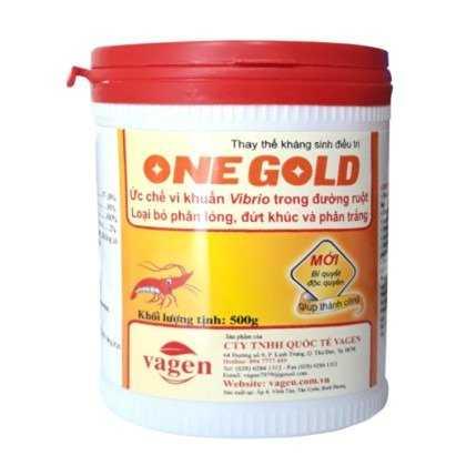 ONE GOLD - Phòng trị phân lỏng, phân đứt khúc trên tôm1