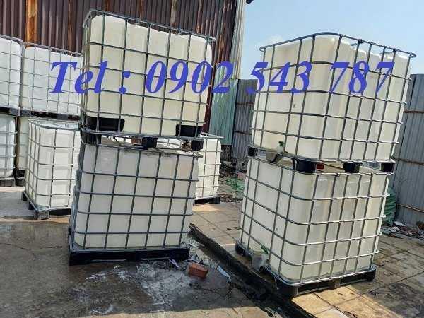 Thùng nhựa vuông 1000 lít đựng hóa chất ,bồn nhựa 1000 lít ,tank nhựa ibc 1000 lít4