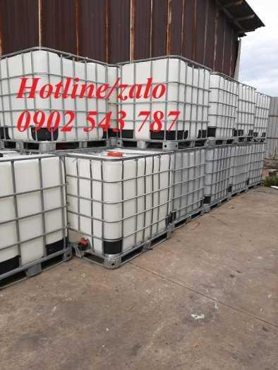 Thùng nhựa vuông 1000 lít đựng hóa chất ,bồn nhựa 1000 lít ,tank nhựa ibc 1000 lít3