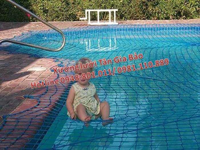 Lưới an toàn bể bơi, lưới căng an toàn khu trống rộng2