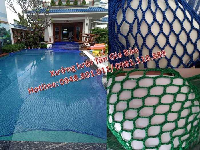 Lưới an toàn bể bơi, lưới căng an toàn khu trống rộng1
