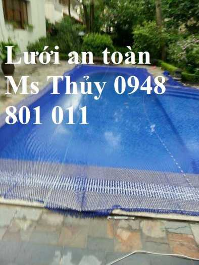 Lưới an toàn bể bơi, lưới căng an toàn khu trống rộng0