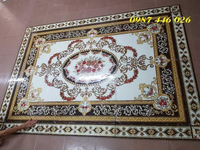 Gạch thảm phòng khách, gạch lát nền, gạch hoa văn HP82228