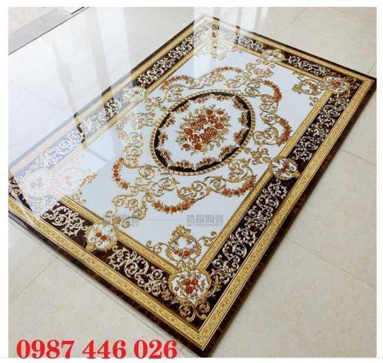 Gạch thảm phòng khách, gạch lát nền, gạch hoa văn HP82223