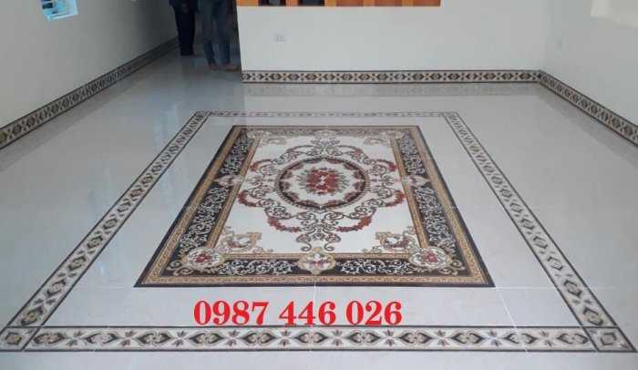 Gạch thảm phòng khách, gạch lát nền, gạch hoa văn HP82221