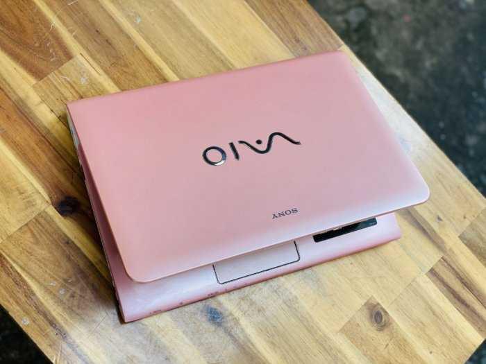 Laptop Sony Vaio SVE14/ i5 Ivy Bridge/ 4G/ SSD128 - 500G/ 14in/ Màu Hồng/ Bản giới hạn/ Giá rẻ0