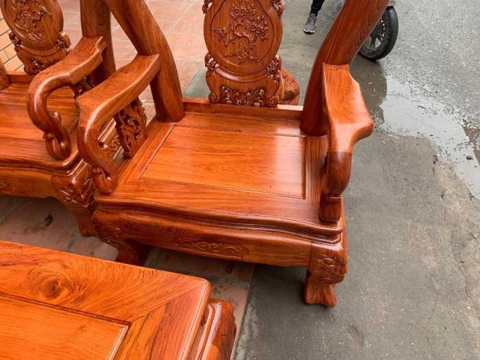 Bộ bàn ghế đồng kỵ minh quốc đào gỗ hương đ5