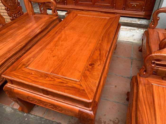 Bộ bàn ghế đồng kỵ minh quốc đào gỗ hương đ4