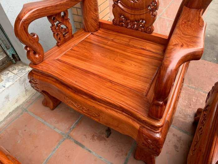 Bộ bàn ghế đồng kỵ minh quốc đào gỗ hương đ1