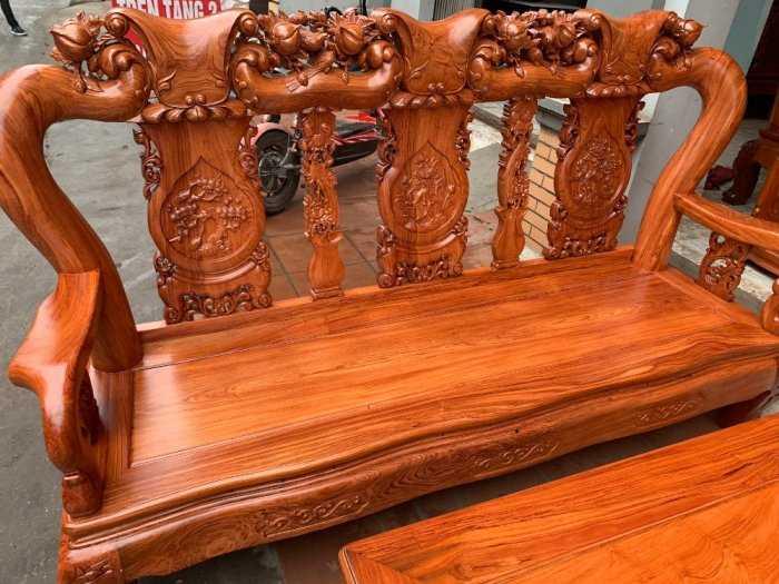 Bộ bàn ghế đồng kỵ minh quốc đào gỗ hương đ0