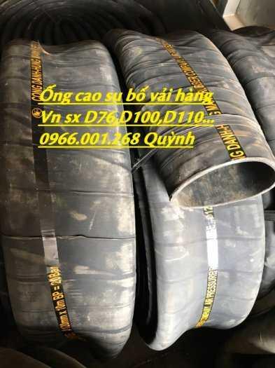 Ống cao su bố vải chống nổ, chống xé dẫn dầu, xả cát các loại phi 32,50,60,76 đến 300 giá rẻ8