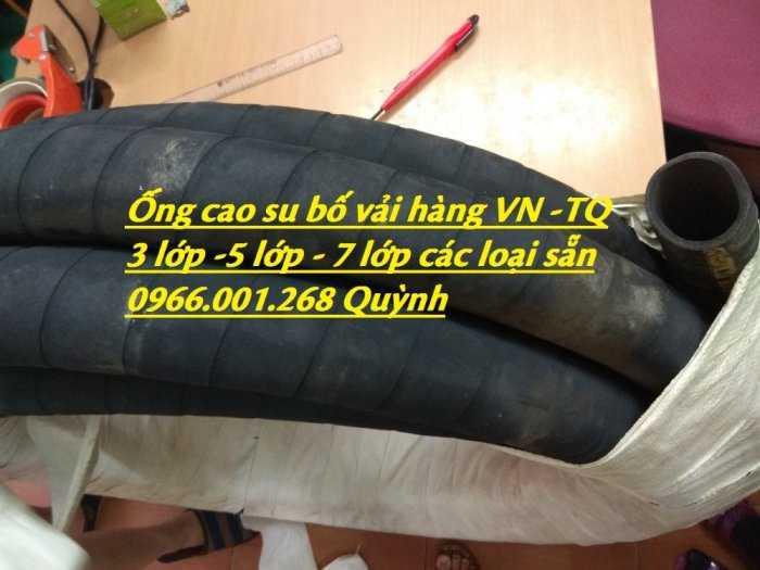 Ống cao su bố vải chống nổ, chống xé dẫn dầu, xả cát các loại phi 32,50,60,76 đến 300 giá rẻ3