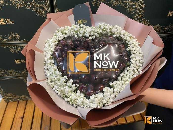 Bó hoa trái cây Cherry - FSNK2021