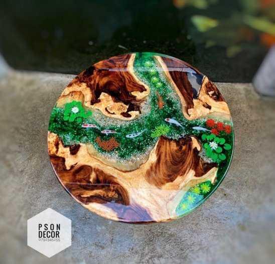 Keo Epoxy Resin Trong Suốt Clear Crystal Đổ Nhựa Làm Khuôn, Vẽ 3D 500ml5