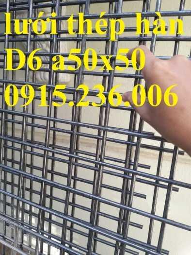 Lưới thép hàn phi 6 a50x50, a100x100, a150x150, a200x200 giá tốt