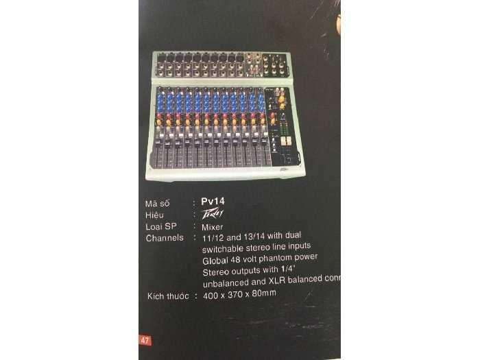 Mixer peveay pv140