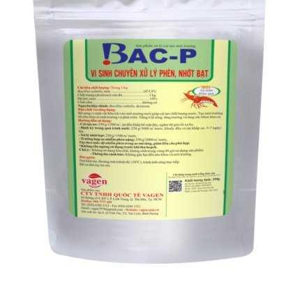 BAC-P - Vi sinh xử lý phèn ao nuôi tôm0
