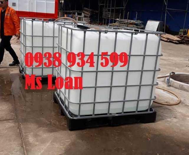 Bồn nhựa cũ 1000 lít, tank nhựa 1000 lít đã qua sử dụng4