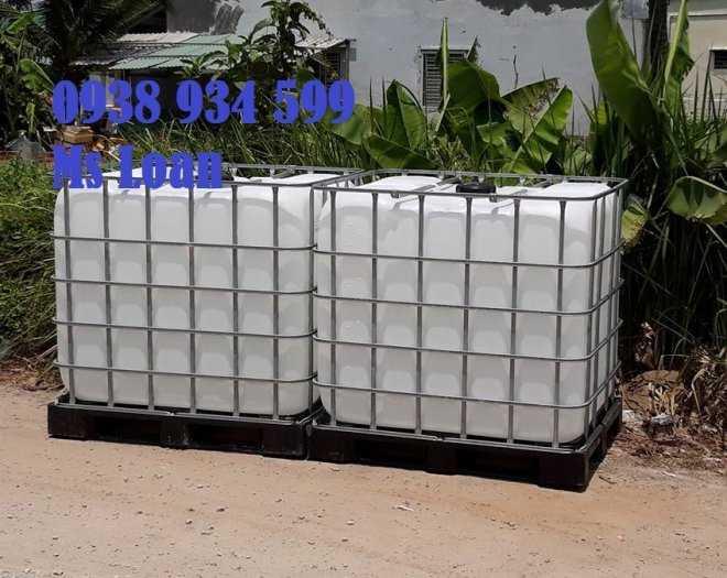 Bồn nhựa cũ 1000 lít, tank nhựa 1000 lít đã qua sử dụng3