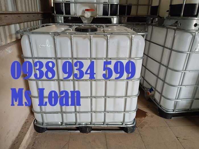 Bồn nhựa cũ 1000 lít, tank nhựa 1000 lít đã qua sử dụng2