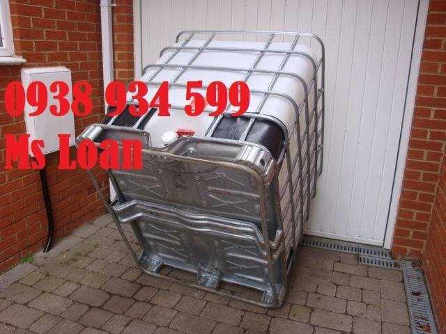 Bồn nhựa cũ 1000 lít, tank nhựa 1000 lít đã qua sử dụng1