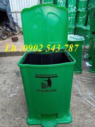 Thùng rác đạp chân y tế 15 lít ,thùng rác 20 lít y tế5