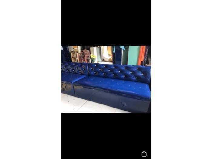 Sofa nệm simily và vãi bố giá tại xưởng1