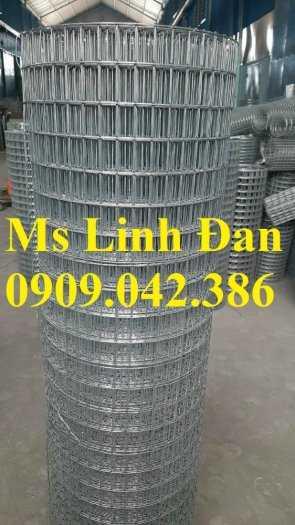 Lưới thép hàn mạ kẽm dây 1 li, 1.5li, 2 li, 3li, lưới thép hàn ô vuông mạ kẽm