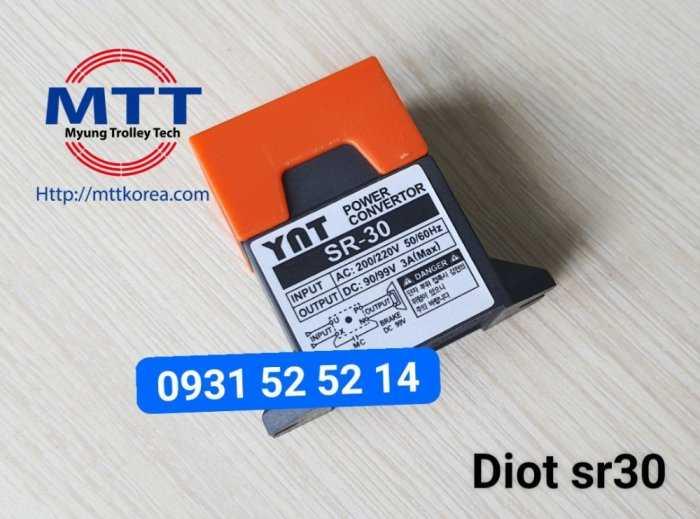 Bộ chỉnh lưu diot sr-30  220v ac -  99v dc33