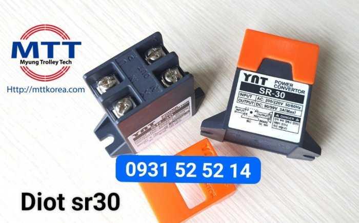 Bộ chỉnh lưu diot sr-30  220v ac -  99v dc31