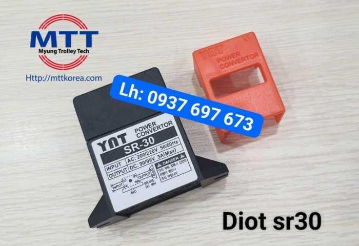 Bộ chỉnh lưu diot sr-30  220v ac -  99v dc28