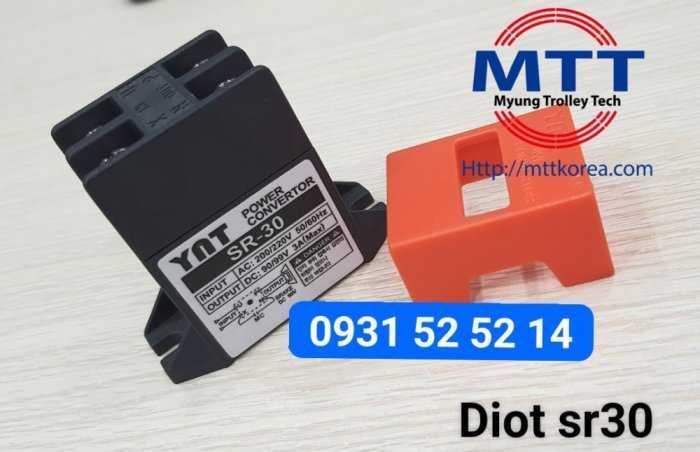 Bộ chỉnh lưu diot sr-30  220v ac -  99v dc26