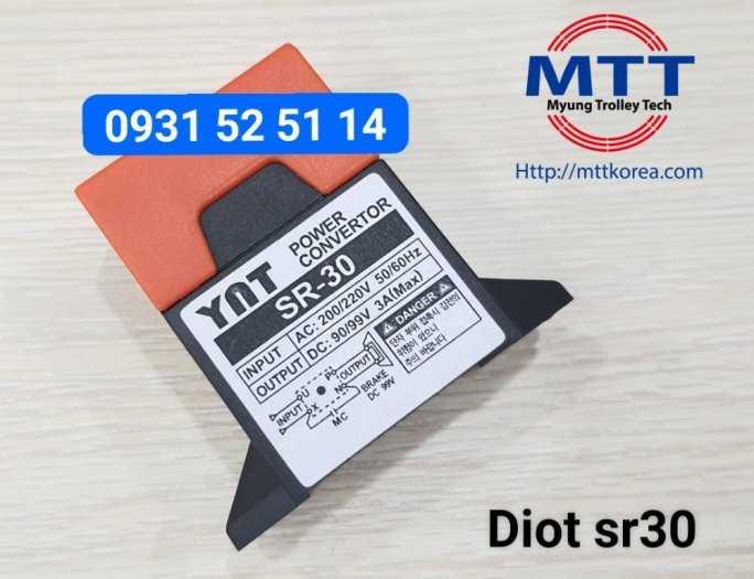 Bộ chỉnh lưu diot sr-30  220v ac -  99v dc24