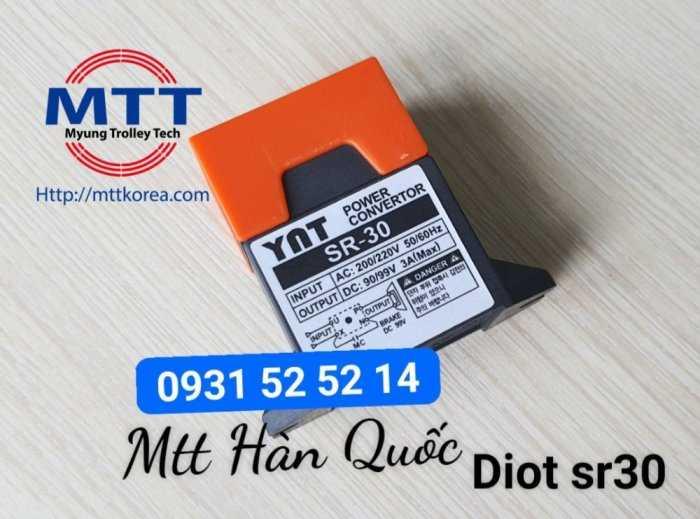 Bộ chỉnh lưu diot sr-30  220v ac -  99v dc23