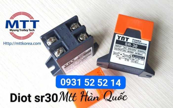 Bộ chỉnh lưu diot sr-30  220v ac -  99v dc21