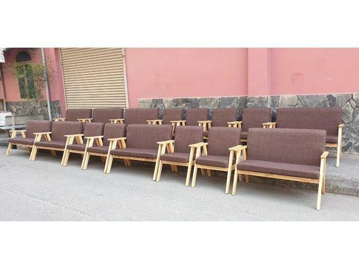 Bộ bàn ghế gỗ sofa nệm giá rẻ1