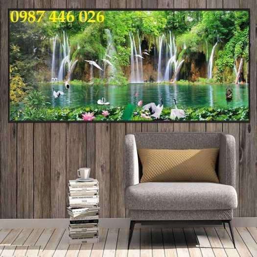 Tranh tường phong cảnh thiên nhiên, gạch trang trí HP024720