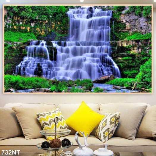 Tranh tường phong cảnh thiên nhiên, gạch trang trí HP024715