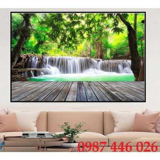 Tranh tường phong cảnh thiên nhiên, gạch trang trí HP02477