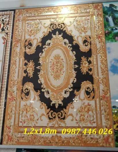 Gạch thảm, thảm gạch trang trí chữ nhật HP045510